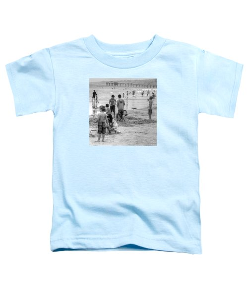 Kids At Beach Toddler T-Shirt