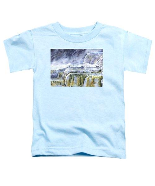 Killdeer Palisades - Mammoth Hot Springs Toddler T-Shirt