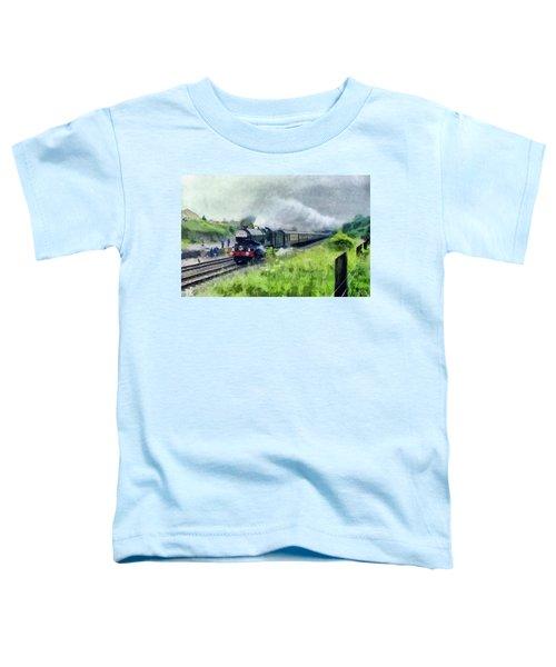 'king George V' Locomotive Toddler T-Shirt