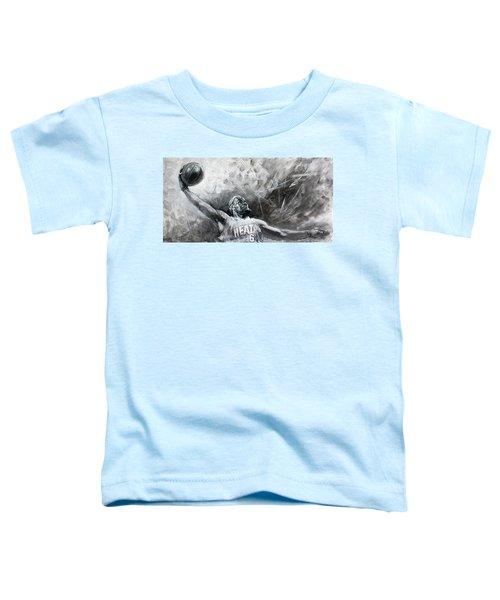 King James Lebron Toddler T-Shirt by Ylli Haruni