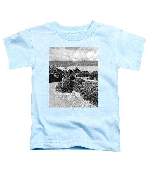 Kite Beach Maui Hawaii Toddler T-Shirt