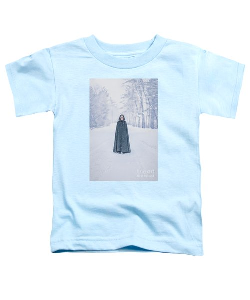 Lady Of The Winter Forest Toddler T-Shirt