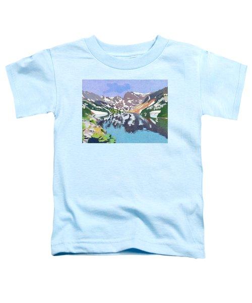 Lake Isabelle Colorado Toddler T-Shirt