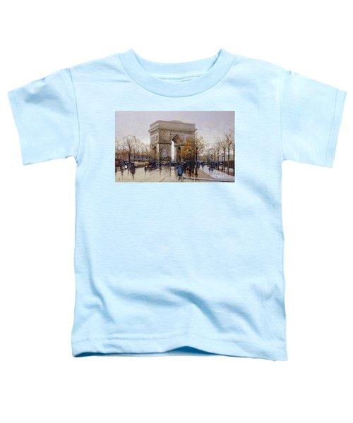 L'arc De Triomphe Paris Toddler T-Shirt
