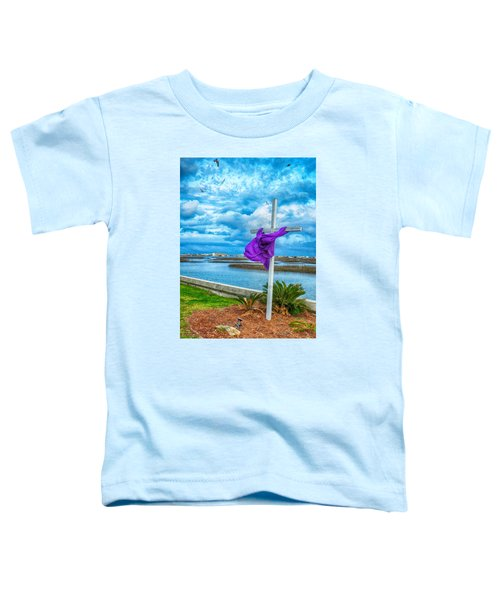 Toddler T-Shirt featuring the photograph Lentin Cross by Bill Barber