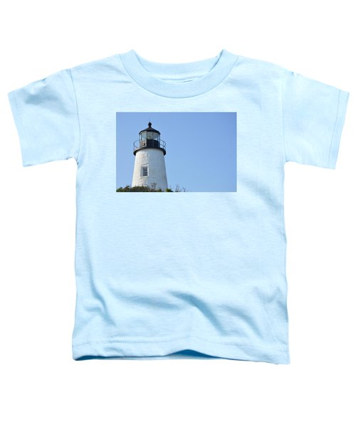 Lighthouse On Clear Day Toddler T-Shirt