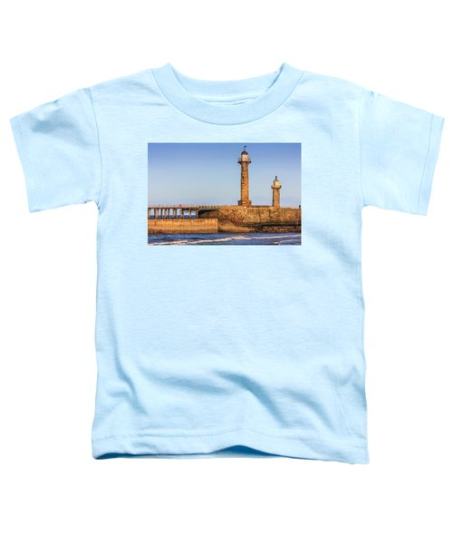 Lighthouses On The Piers Toddler T-Shirt