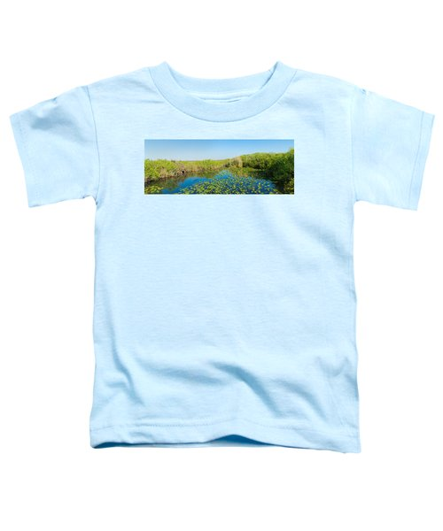Lily Pads In The Lake, Anhinga Trail Toddler T-Shirt