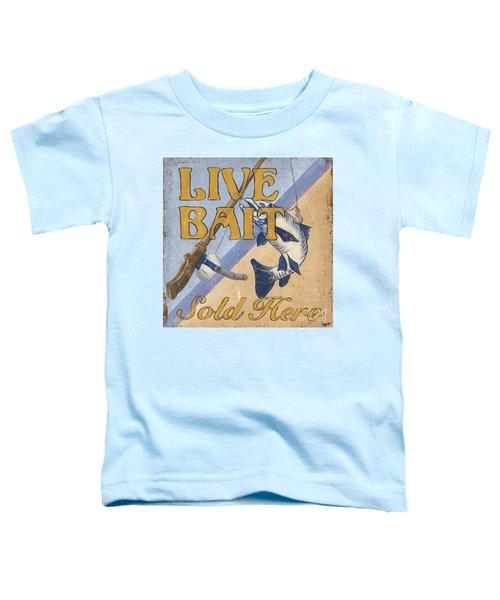 Live Bait Toddler T-Shirt