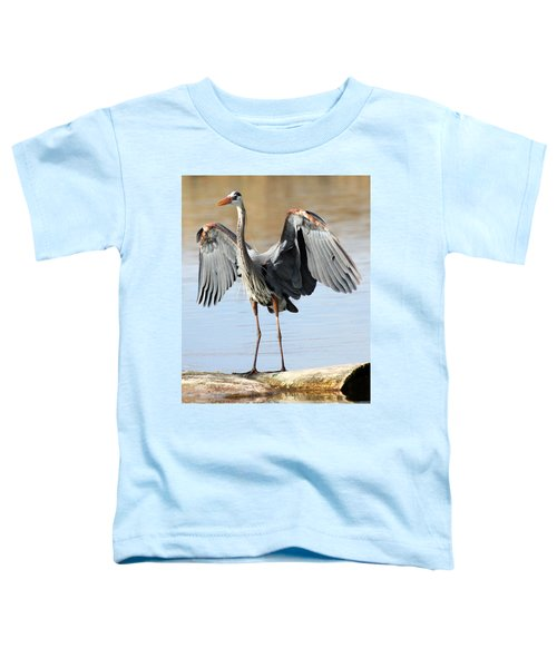 Log Hog Toddler T-Shirt