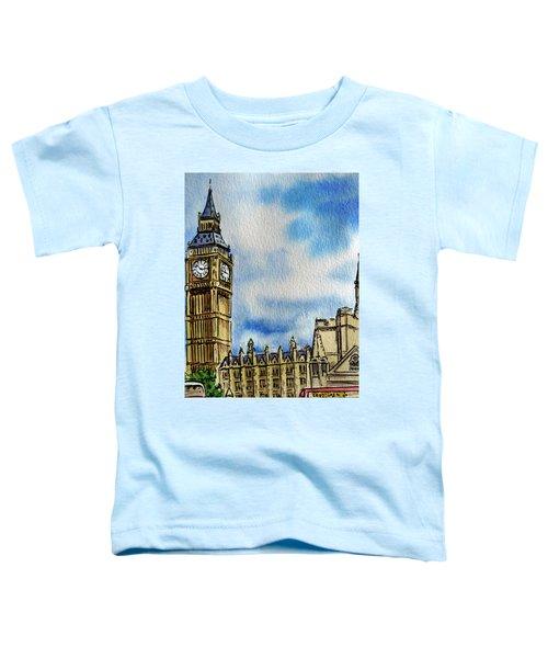 London England Big Ben Toddler T-Shirt