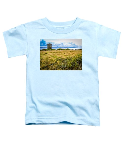 Toddler T-Shirt featuring the photograph Lord Bandon's Tower In Ireland's County Cork by James Truett