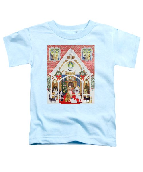 Love From Holly Lodge Toddler T-Shirt