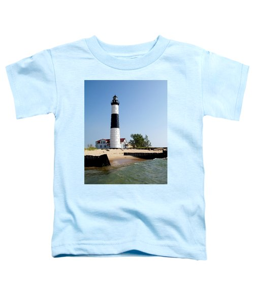Ludington Michigan's Big Sable Lighthouse Toddler T-Shirt