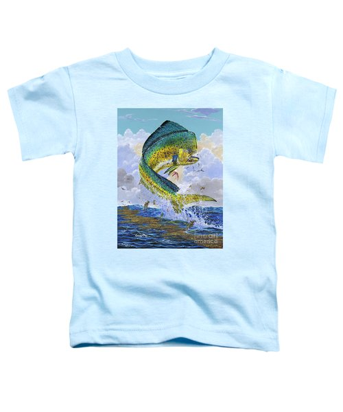Mahi Hookup Off0020 Toddler T-Shirt by Carey Chen