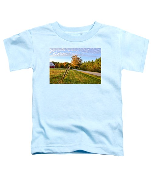 Toddler T-Shirt featuring the photograph Maine Morning by Andrea Platt