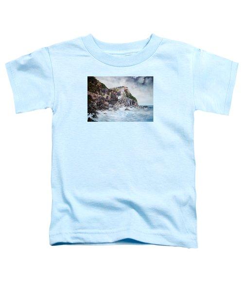 Manarola Italy Toddler T-Shirt by Jean Walker