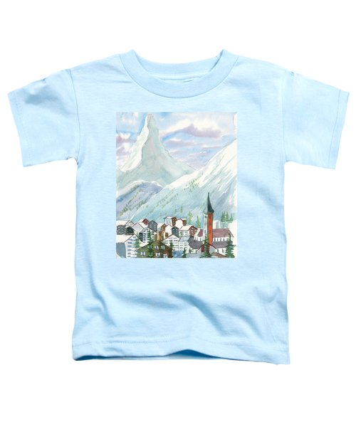 Matterhorn Toddler T-Shirt