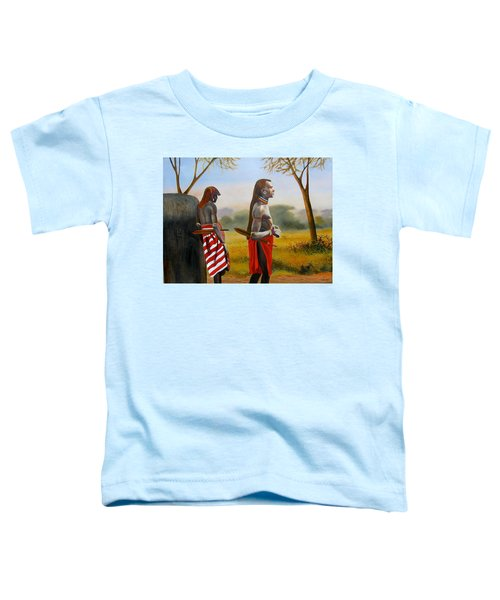 Men Of The Maasai Toddler T-Shirt