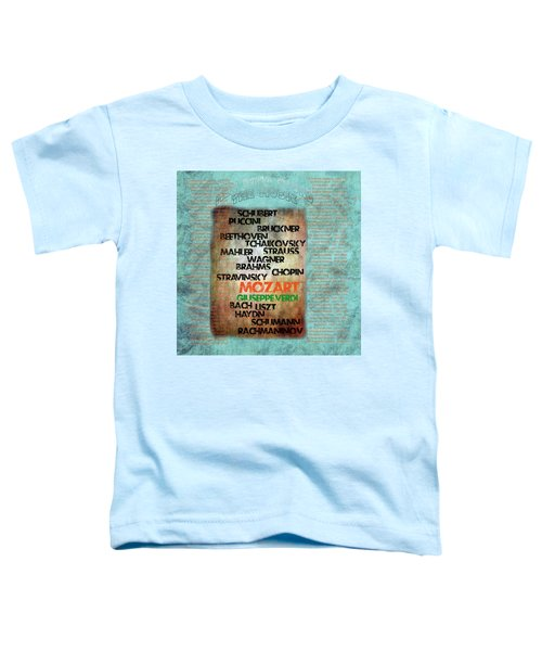Men Who Found The Music Toddler T-Shirt