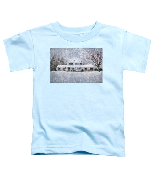 Wintry Holiday Toddler T-Shirt