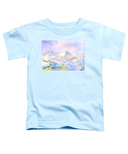 Misty Mountain Toddler T-Shirt