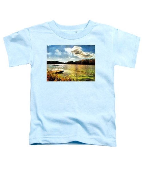 Mohegan Lake Gold Toddler T-Shirt
