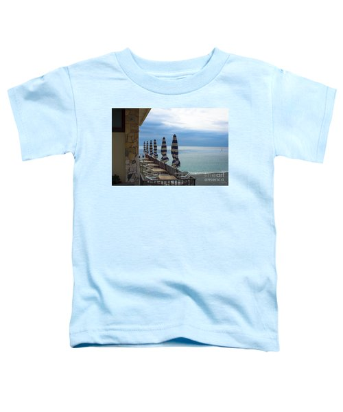 Monterosso Outdoor Cafe Toddler T-Shirt
