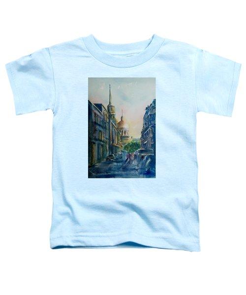 Montreal Skyline Toddler T-Shirt