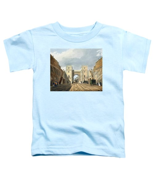 Moorish Arch, Looking From The Tunnel Toddler T-Shirt