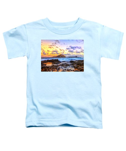 Morning At Makapuu Toddler T-Shirt