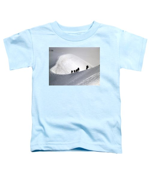 Mountaineers To Conquer Mont Blanc Toddler T-Shirt