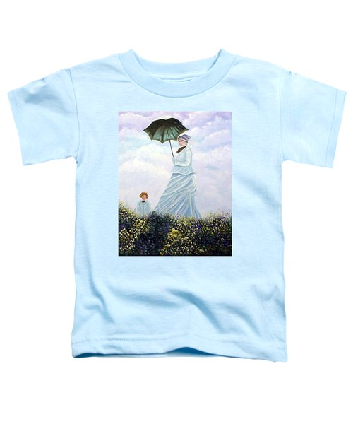 Mrs. Monet And Son Toddler T-Shirt