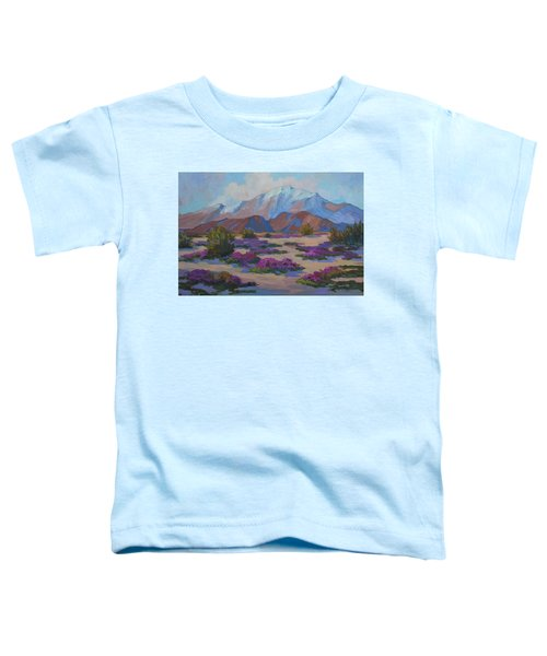 Mt. San Jacinto And Verbena Toddler T-Shirt