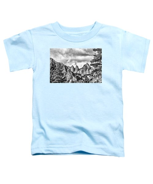Mt. Whitney Toddler T-Shirt by Peggy Hughes