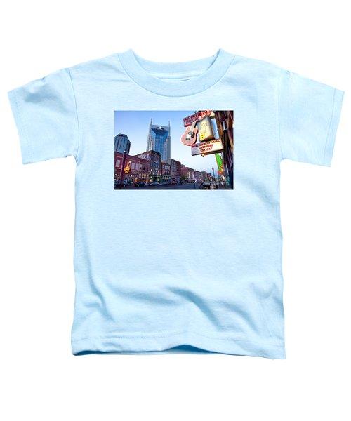 Music City Usa Toddler T-Shirt