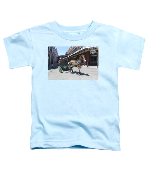 Carriage Ride In New Orleans 21 Toddler T-Shirt