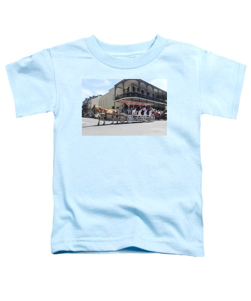 Carriage Ride In New Orleans 22 Toddler T-Shirt