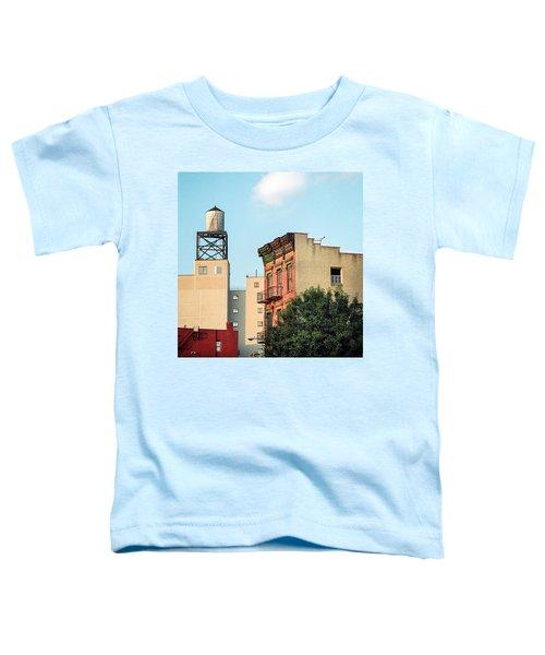 New York Water Tower 3 Toddler T-Shirt