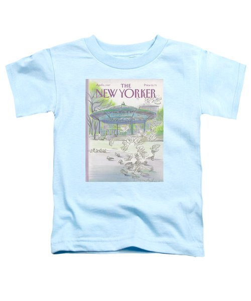 New Yorker April 6th, 1987 Toddler T-Shirt