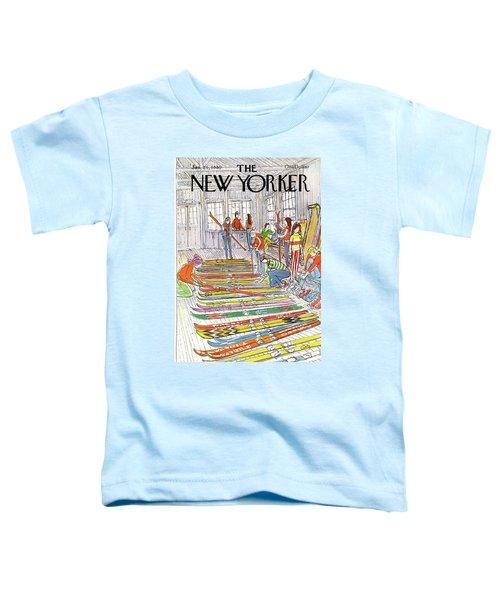 New Yorker January 21st, 1980 Toddler T-Shirt