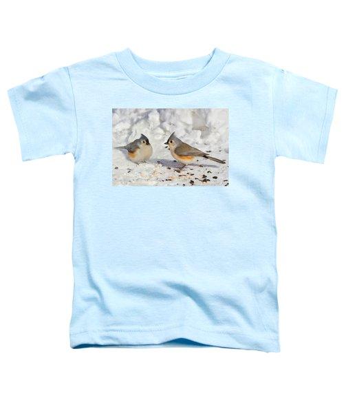 Nice Pair Of Titmice Toddler T-Shirt