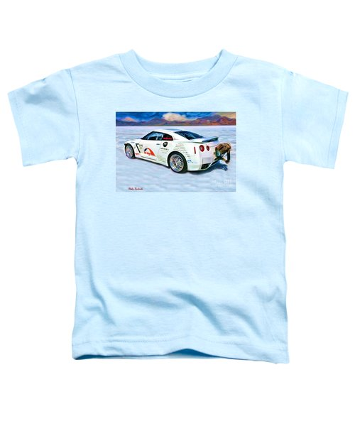 Nissan Salt Flats Toddler T-Shirt