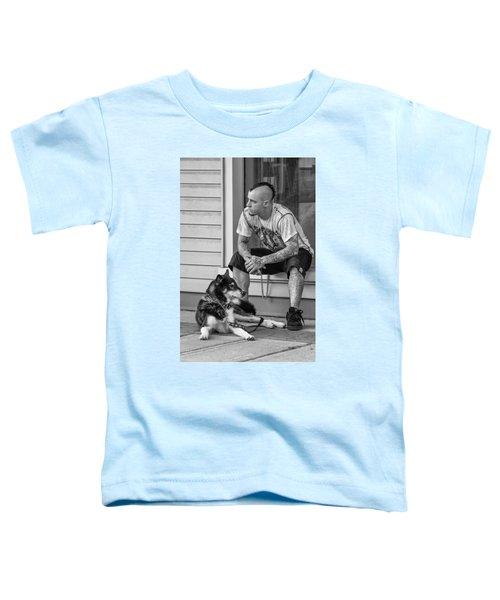 No Wallflower Monochrome Toddler T-Shirt