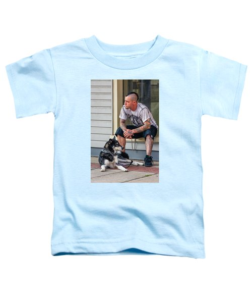 No Wallflower Toddler T-Shirt