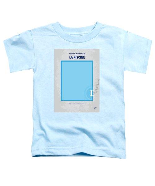 No137 My La Piscine Minimal Movie Poster Toddler T-Shirt