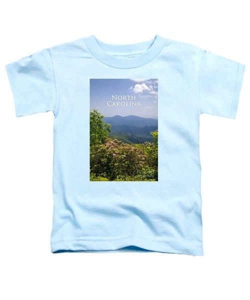 North Carolina Mountains Toddler T-Shirt