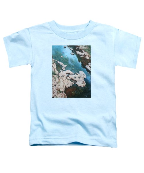 Ocoee River Low Tide Toddler T-Shirt