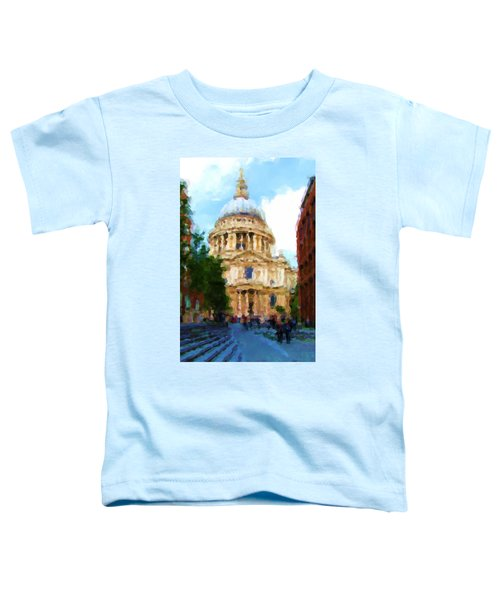 On The Steps Of Saint Pauls Toddler T-Shirt