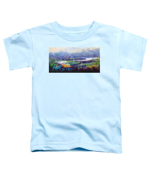 Overlook Abstract Landscape Toddler T-Shirt